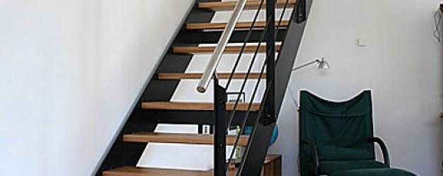Металлическая лестница на тетивах N 4000, Кляйнмахнов 2