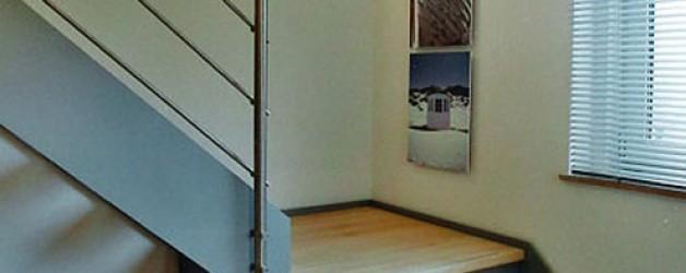 Металлическая лестница на тетивах N 4000, Йена 1