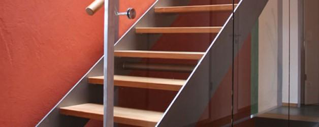 Металлическая лестница на тетивах N 4000, Веймар 1