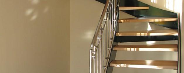 Металлическая лестница на тетивах N 4000, Вальсдорф