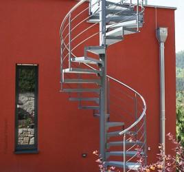 Винтовая лестница для улицы N 5000, Йена