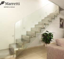 Ограждение из структурного стекла (Marretti)