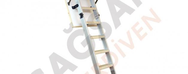 Алюминиевые складные лестницы для чердака