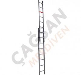 Двухсекционные алюминиевые лестницы