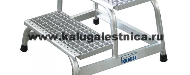Монтажная подставка с решетчатыми ступенями