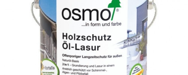 Защитное масло-лазурь для древесины с эффектом серебра