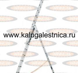 Трехсекционная лестница индустриального ресурса Классик 3х12