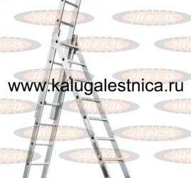 Лестница трехсекционная универсальная «Ювелир» 3х11
