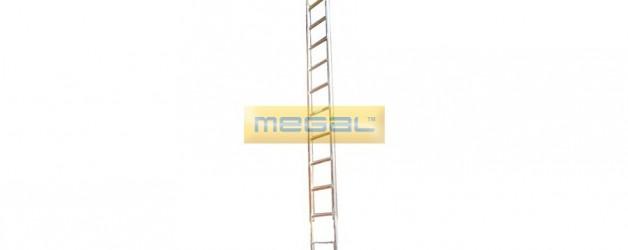 Лестницы навесные алюминиевые с крюками ЛНАак