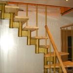 Г-образная лестница №10