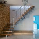 Г-образная лестница №1