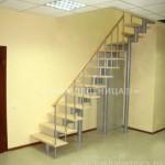 Г-образная лестница №13