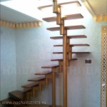 Г-образная лестница №14