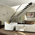 Г-образная лестница №2