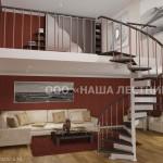 Винтовая лестница №4