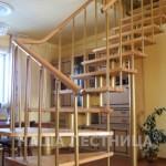 Г-образная лестница №9