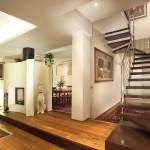 Лестницы со смоляным покрытием