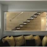 Модульная деревянная лестница Concorde со светодиодами