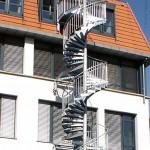Наружная лестница, Лейпциг 1