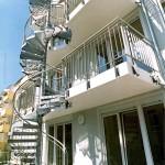 Наружная лестница, Лейпциг 3