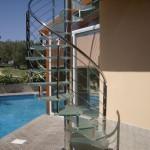Стеклянные винтовые лестницы