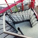 Металлическая лестница на тетивах N 4000, Ильменау