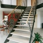 Металлическая лестница на тетивах N 4000, Йена 2