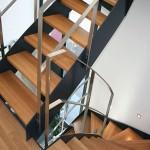 Металлическая лестница на тетивах N 4000, Кляйнмахнов 1