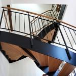 Металлическая лестница на тетивах N 4000, Нидерурзель 2