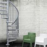 Лестница STEEL_ZINK