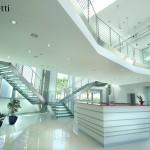 Лестницы с тетивой из стали
