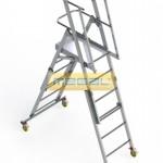 Телескопическая лестница-платформа ТЛП