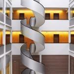 Круглая лестница, Лейпциг 1